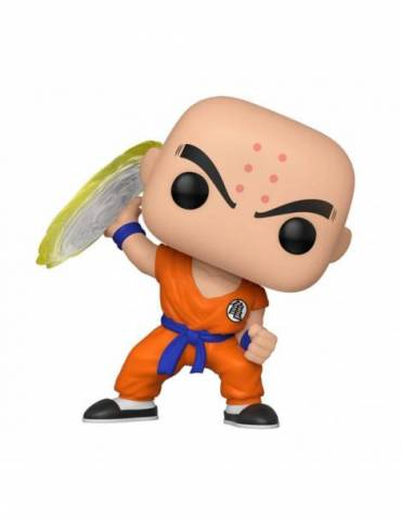 Figura Pop Dragon Ball Z: Krillin w/ Destructo Disc 9 cm