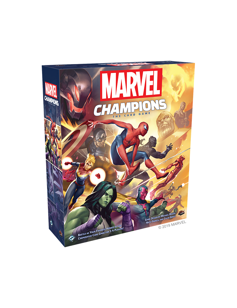 Marvel Champions: The Card Game Core Set (Inglés)