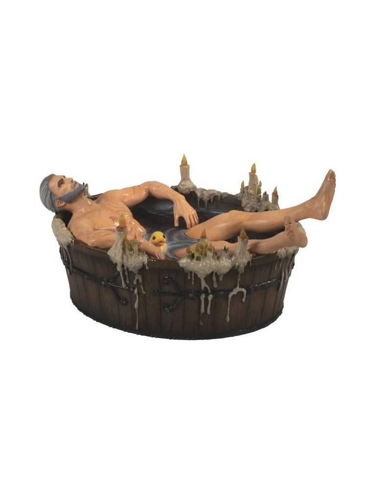 Figura The Witcher 3: Geralt en la Bañera 9 cm