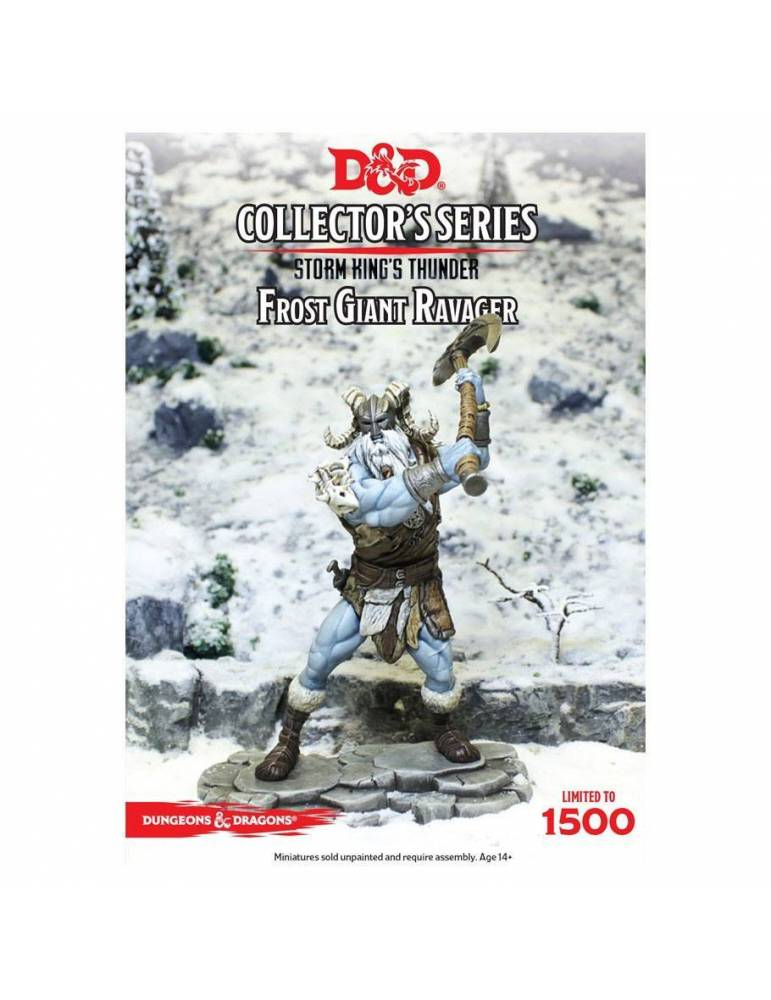 Dungeons & Dragons: Collectors Series Miniatures - Miniatura sin pintar Storm Kings Thunder Frost Giant Ravager
