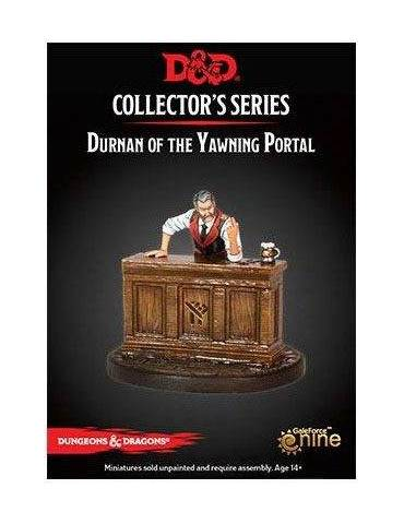 Dungeons & Dragons: Collectors Series Miniatures - Miniatura sin pintar Durnan of the Yawning Portal