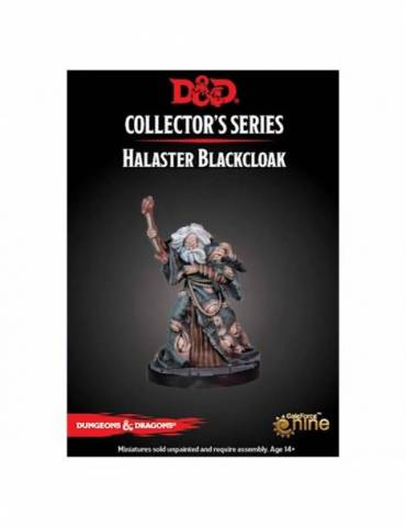 Dungeons & Dragons: Collectors Series Miniatures - Miniatura sin pintar Dungeon of the Mad Mage Halaster Blackcloak