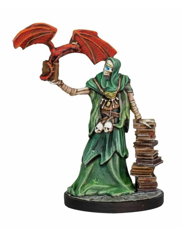 Dungeons & Dragons: Collectors Series Miniatures - Miniatura sin pintar Ezzat the Lich