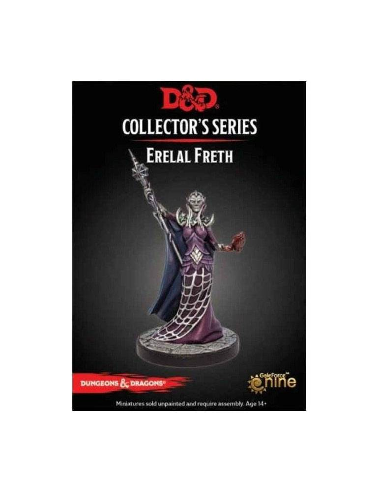 Dungeons & Dragons: Collectors Series Miniatures - Miniatura sin pintar Erelal Freth
