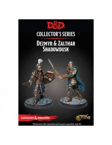 Dungeons & Dragons: Collectors Series Miniatures - Miniaturas sin pintar Dezmyr & Zalthar