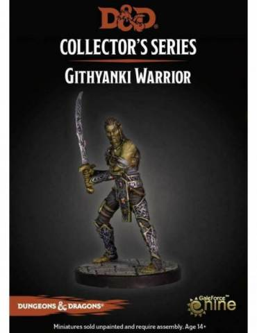 Dungeons & Dragons: Collectors Series Miniatures - Miniatura sin pintar Githyanki Warrior