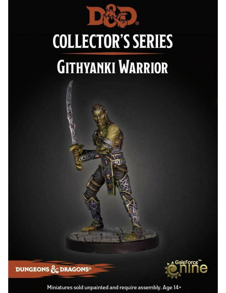 Dungeons & Dragons: Collectors Series Miniatures - Miniatura sin pintar Githyanki Warrior