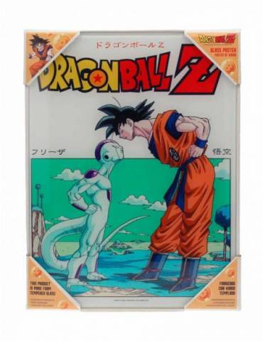 Poster de Vidrio Dragon Ball: Dragon Ball Z Goku Vs Freezer 30 X 40 cm