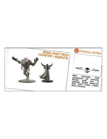 Hellboy: The Board Game - Resin Giant Frog Monster + Rasputin