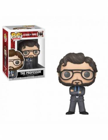 Figura POP La casa de papel TV: The Professor 9 cm
