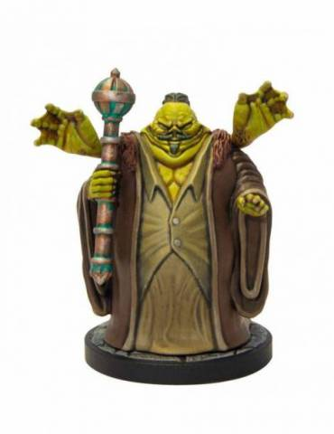 Figura D&D Collectors Series Miniatures: Miniatura sin pintar Descent into Avernus - Thavius Kreeg