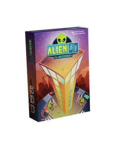 Alien 51: El Ascensor (Edición Verkami) + Certificado + Chapa + Set de colgantes
