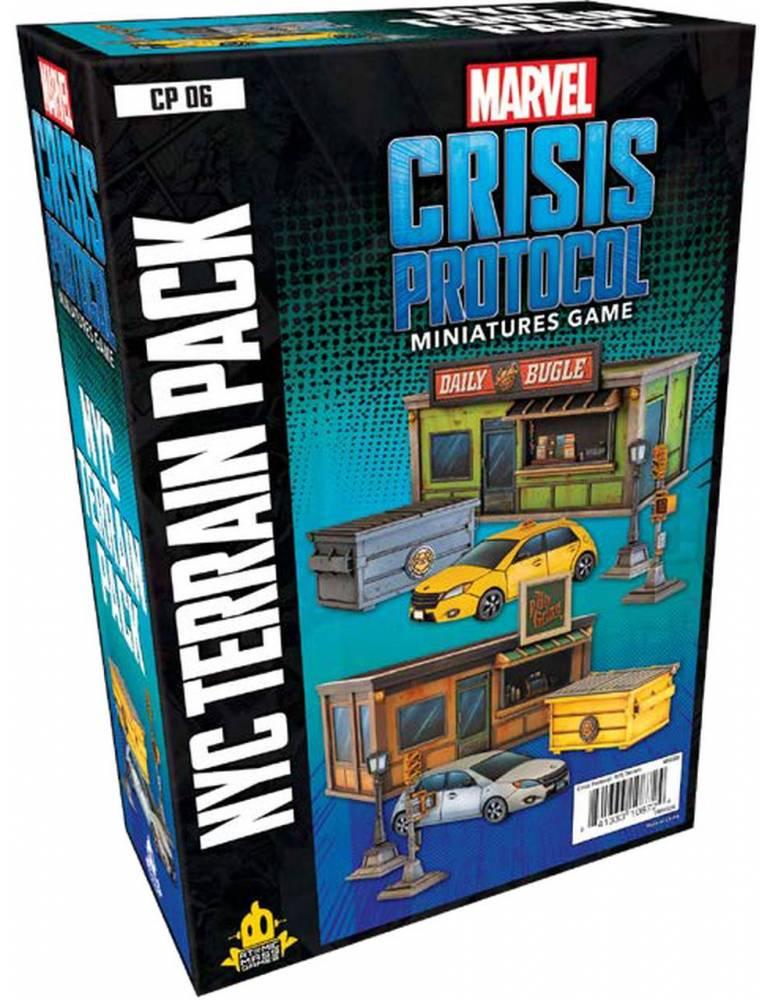Marvel: Crisis Protocol - NYC Terrain Pack (Inglés)