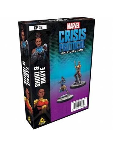 Marvel: Crisis Protocol - Shuri & Okoye Character Pack (Inglés)