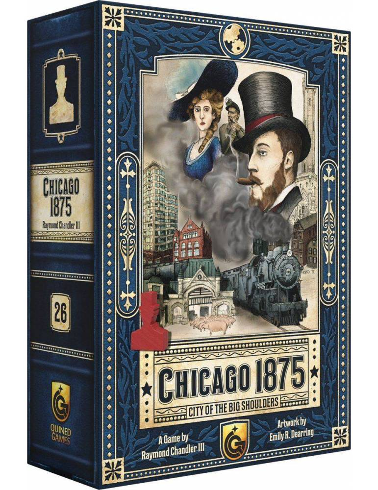 Chicago 1875: City of the Big Shoulders ? Quined Games Entrepeneur edition (2019)