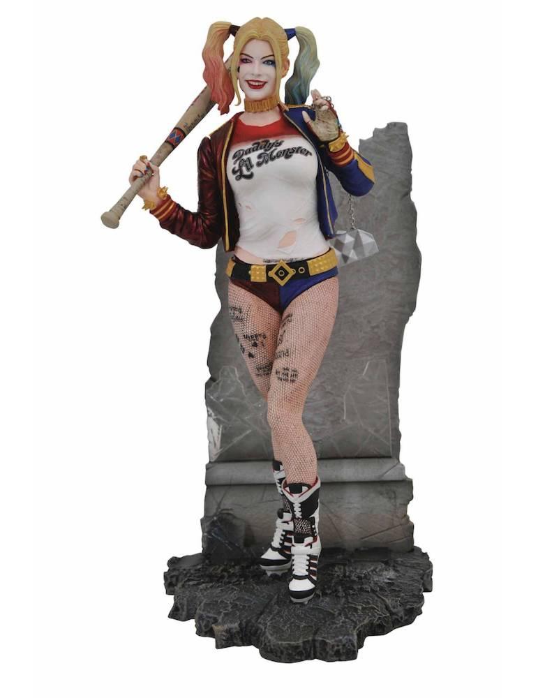 Estatua Diorama DC Movie Gallery Suicide Squad: Harley Quinn