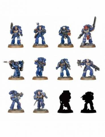 Miniatura Aleatoria Warhammer 40000 Serie 1: Space Marine Heroes Model Kit 4