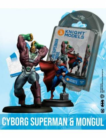 Cyborg Superman & Mongul