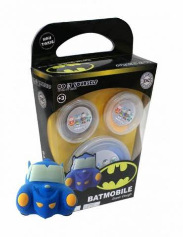 Batmovil Super Dough Vehiculos Universo Dc - Do It Yourself