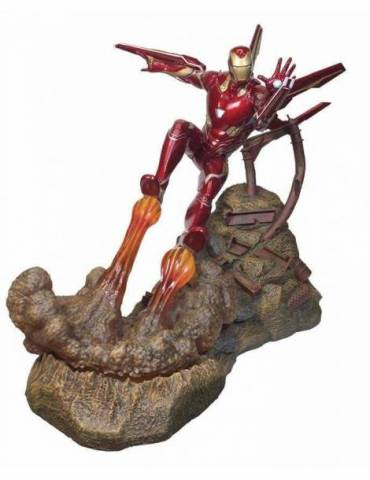 Figura de resina Marvel Movie Premier Collection Avengers Infinity War: Iron Man MK50