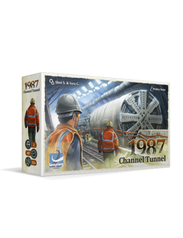 1987 Channel Tunnel + Postal firmada