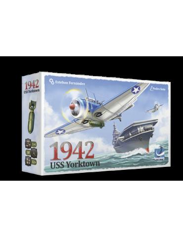 1942 USS Yorktown + Chapa promocional