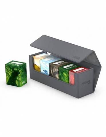 Caja para cartas Ultimate Guard Arkhive Flip Case 400+ Gris