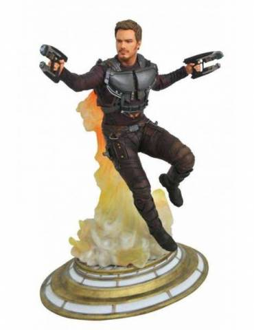 Figura Diorama Guardians of The Galaxy Vol. 2 Marvel Gallery: Star-Lord sin Mascara 28 cm