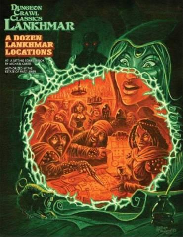 Dungeon Crawl Classics Lankhmar 7: A Dozen Lankhmar Locations (Inglés)