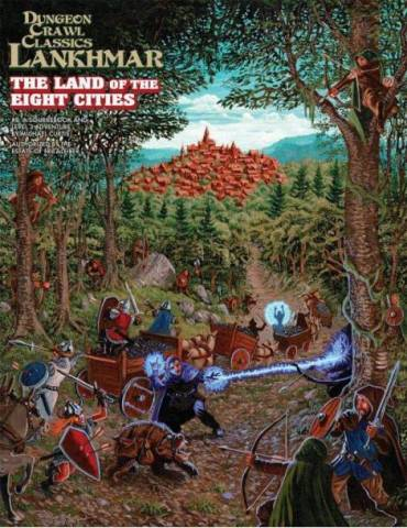 Dungeon Crawl Classics Lankhmar 8: The Land of Eight Cities (Inglés)