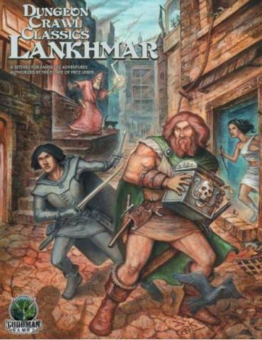Dungeon Crawl Classics Lankhmar Boxed Set (Inglés)