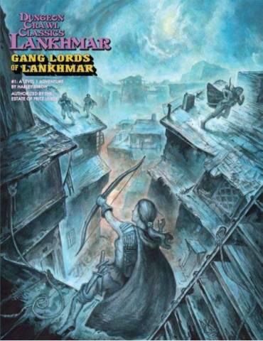 Dungeon Crawl Classics Lankhmar 1: Gang Lords of Lankhmar (Inglés)