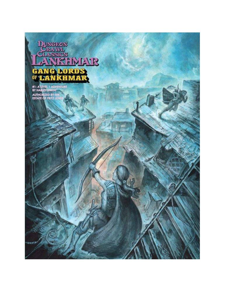Dungeon Crawl Classics Lankhmar 1: Gang Lords of Lankhmar (Inglés)