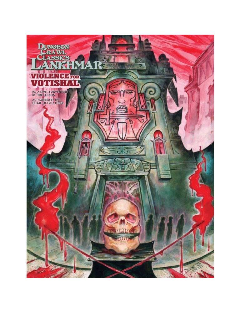 Dungeon Crawl Classics Lankhmar 4: Violence for Votishal (Inglés)