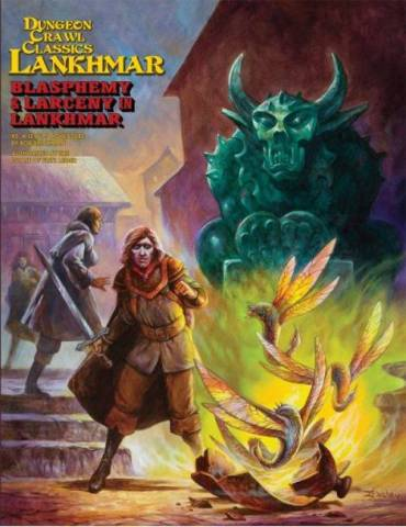 Dungeon Crawl Classics Lankhmar 5: Blasphemy and Larceny in Lankhmar (Inglés)