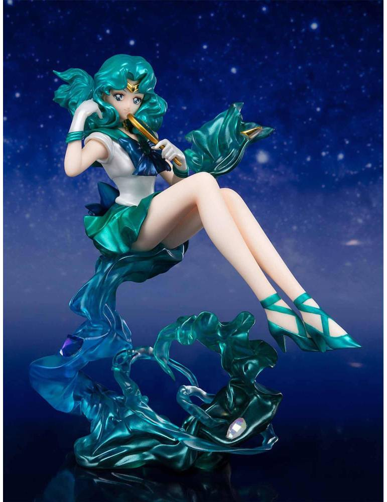 Figura Sailor Moon Figuarts Zero Chouette Exclusive Web Tamashii: Sailor Neptuno 16 cm