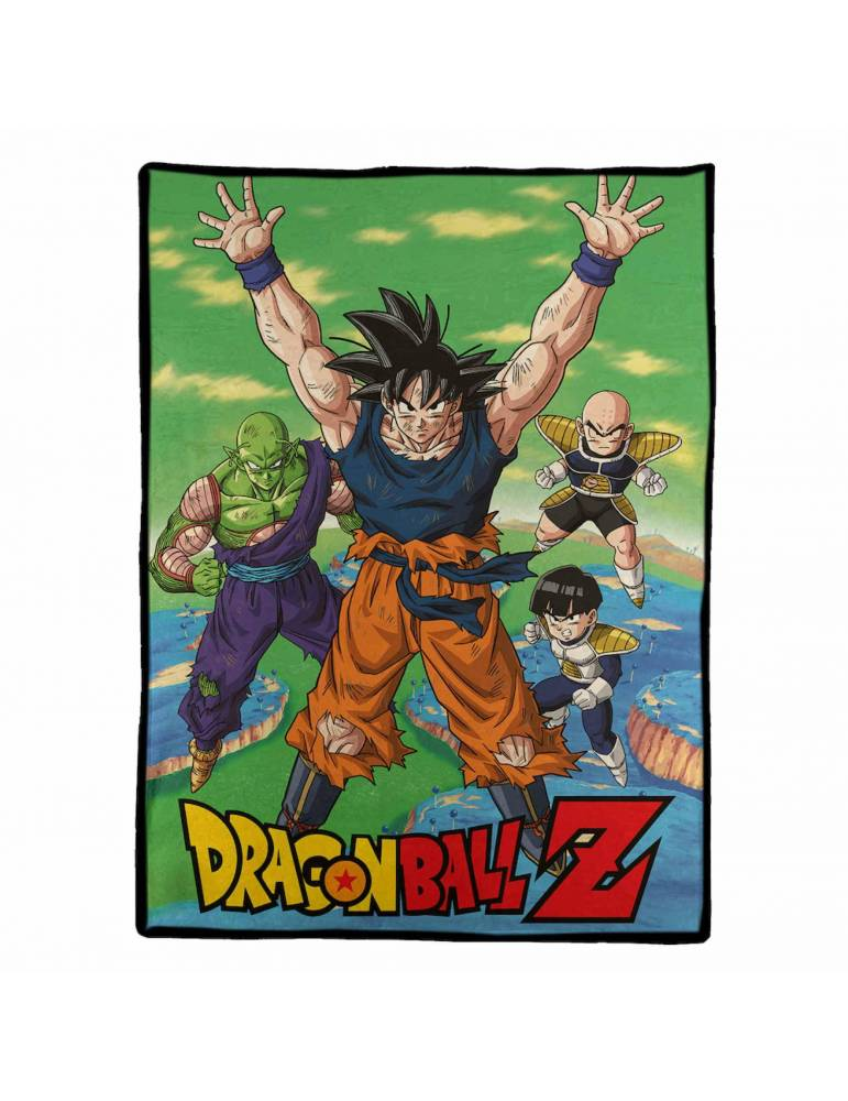 Manta Polar Dragon Ball Z: Personajes en Namek 100 x 150 cm