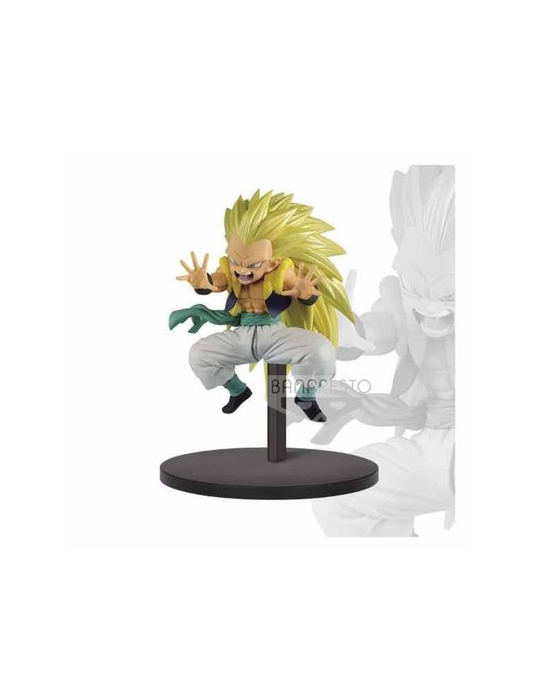 Figura Dragon Ball Super Chosenshiretsuden Vol. 2: Super Saiyan 3 Gotenks 10 cm