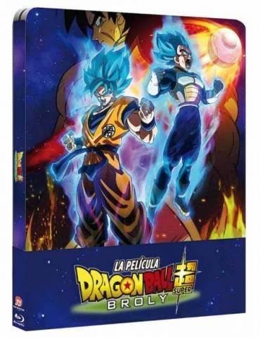 Blu-ray Caja Metálica Dragon Ball Super Broly