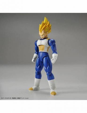 Figura Dragon Ball Z Figure-Rise Standard Exclusive: Super Saiyan Vegeta Model Kit 16 cm