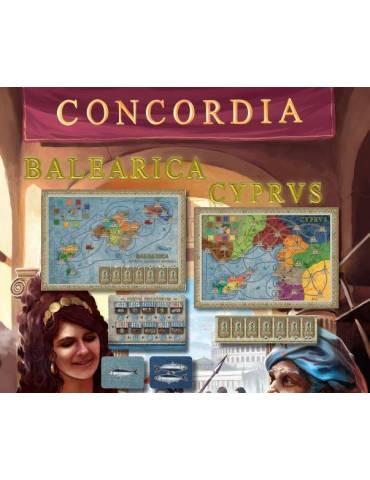 Concordia: Expansión Balearica y Cyprus (Baleares y Chipre)