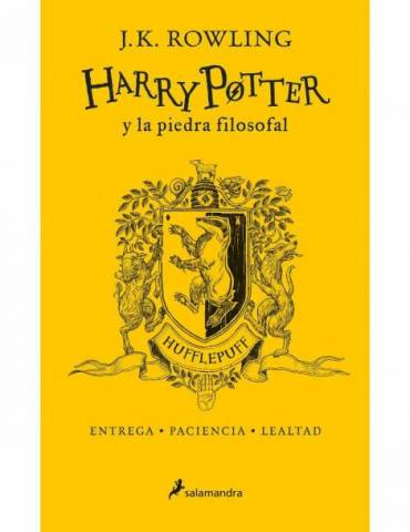 Harry Potter y La Piedra Filosofal. Edición Hufflepuff