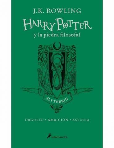 Harry Potter y La Piedra Filosofal. Edición Slytherin