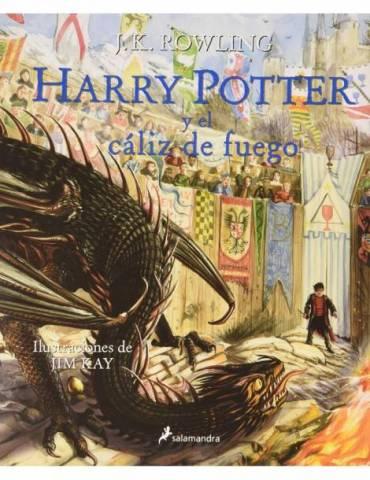 Harry Potter y el Cáliz de Fuego (HP4) Edición Ilustrada