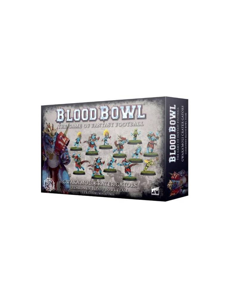 Blood Bowl: Gwaka'moli Crater Gators - Lizardmen Blood Bowl Team