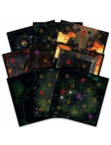 Dark Souls: The Board Game - Darkroot Basin & Iron Keep Tile Set
