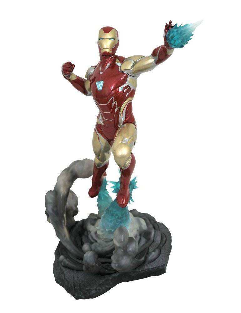 Diorama Vengadores: Endgame Marvel Movie Gallery Iron Man MK85 23 cm