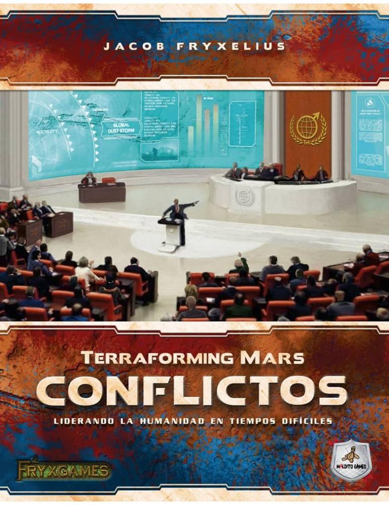 Terraforming Mars: Conflictos (Edición Retail)