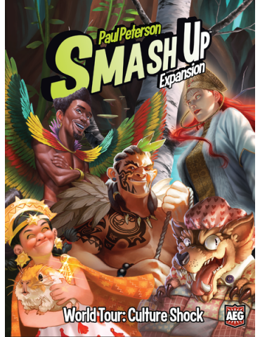 Smash Up: World Tour -...