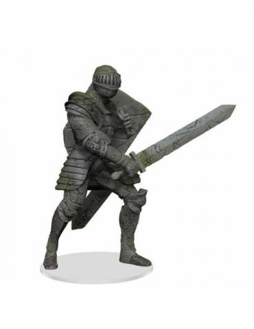 D&D Icons of the Realms: Miniatura Premium Walking Statue of Waterdeep - The Honorable Knight 28 cm